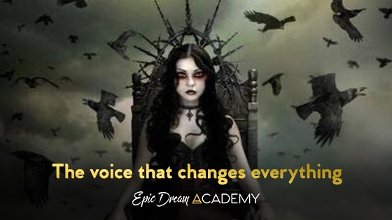It is the voice that changes everything