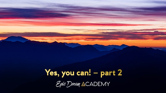 Yes, you can! – part 2 (story continued)